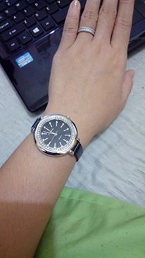 This is one of Jenny's watches. One of them! As in she has several. The woman should never be late anywhere.