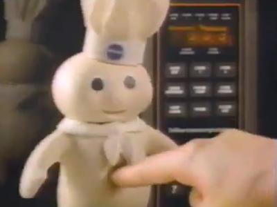 White skin and blue lifeless eyes; am I the Pillsbury Doughboy?