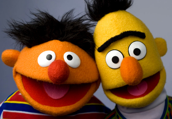 Bert and Ernie married