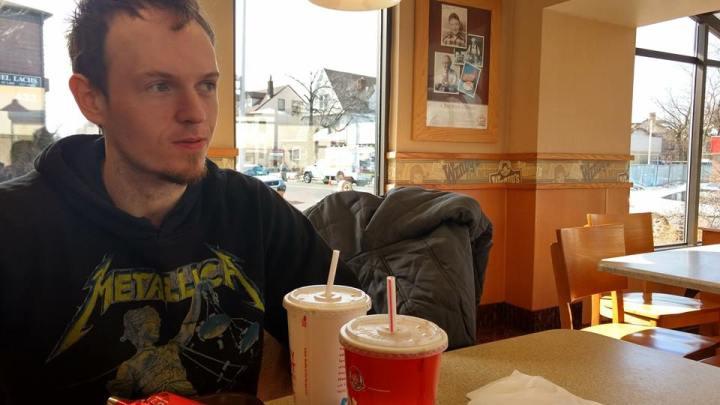 Eating at Wendys