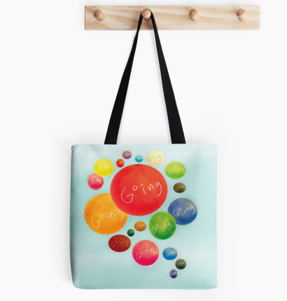 art cute design gift minimalist drawing funny graphic tote bag