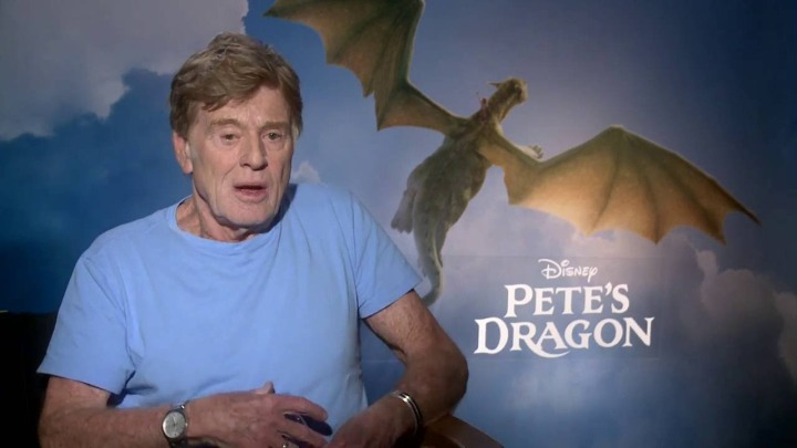 Robert Redford Pete's Dragon