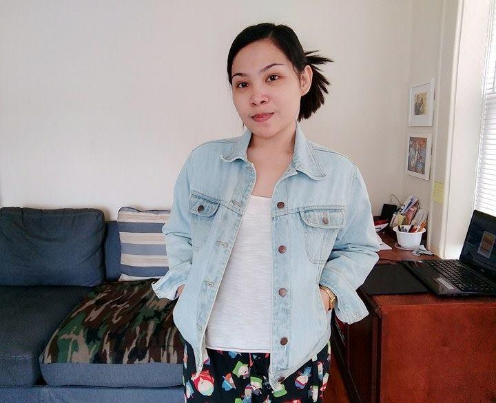 denim jacket thrifting nyc