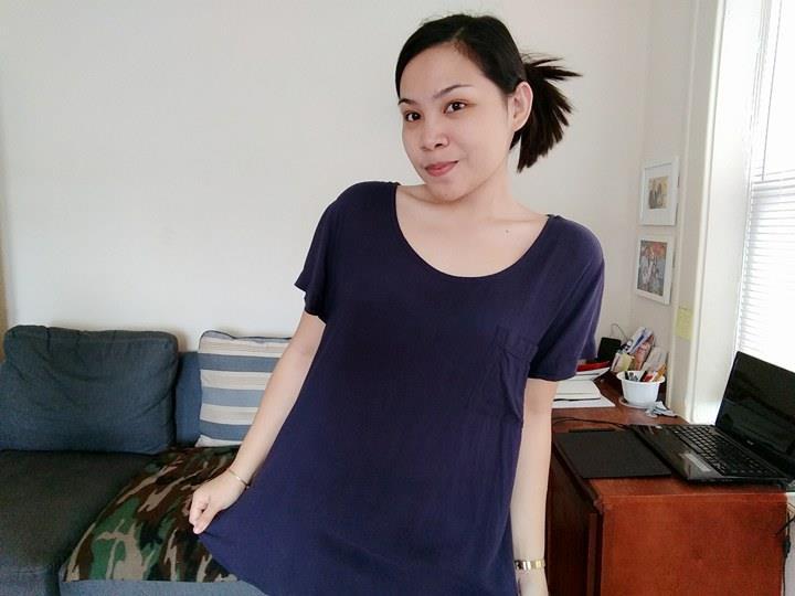 tshirt dress AuH2O nyc thrifting