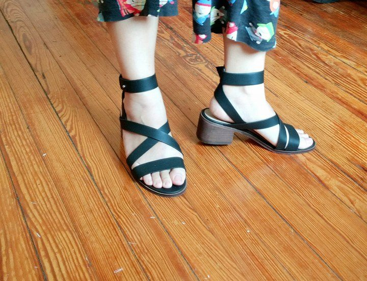 sandals shoes thrifted nyc forever21 thrifting east village