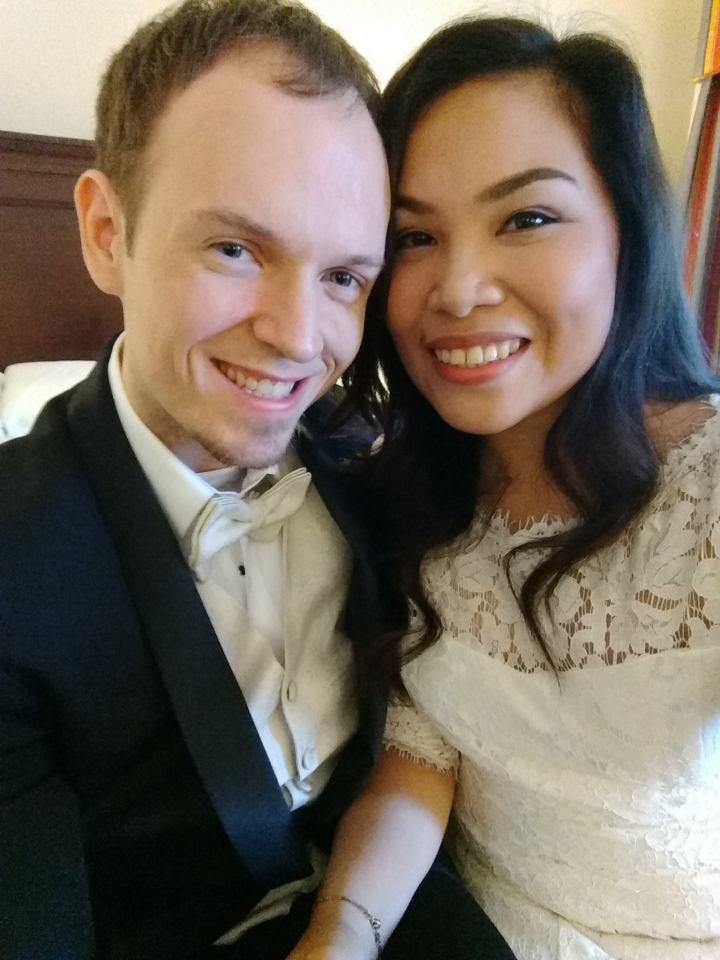 tight wedding tuxedo