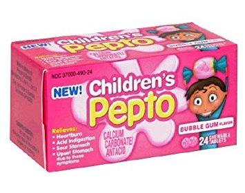 bubble gum pepto