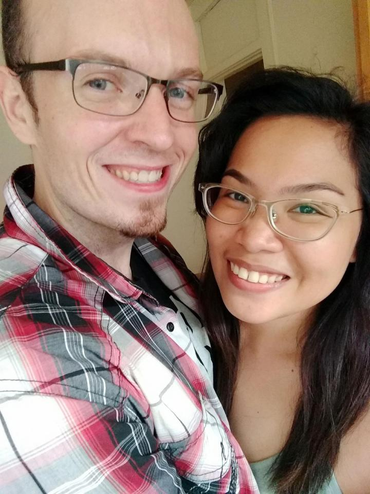 glasses couple