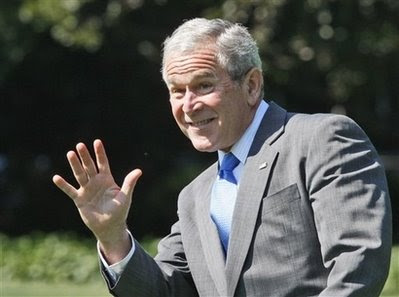 George Bush wave