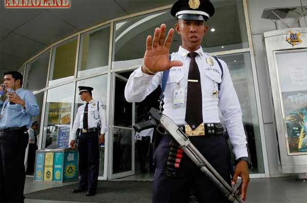 filipino security guard