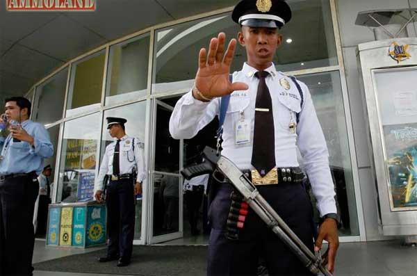 filipino security guard