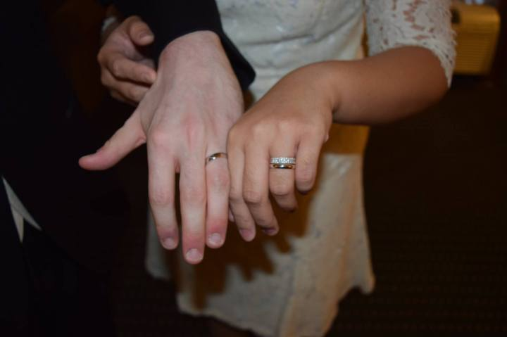 matching wedding rings