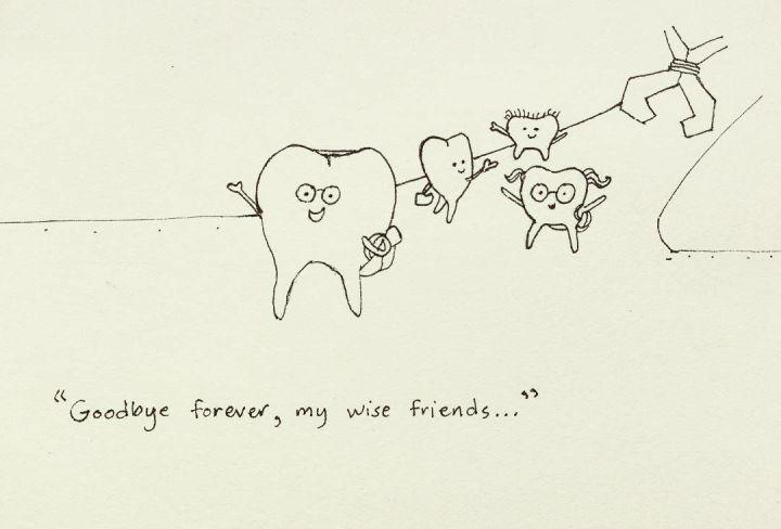 wisdom teeth comic