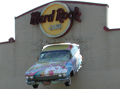 car hard rock cafe