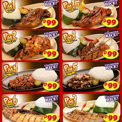 mang inasal unli rice unlimited rice Filipino Philippines