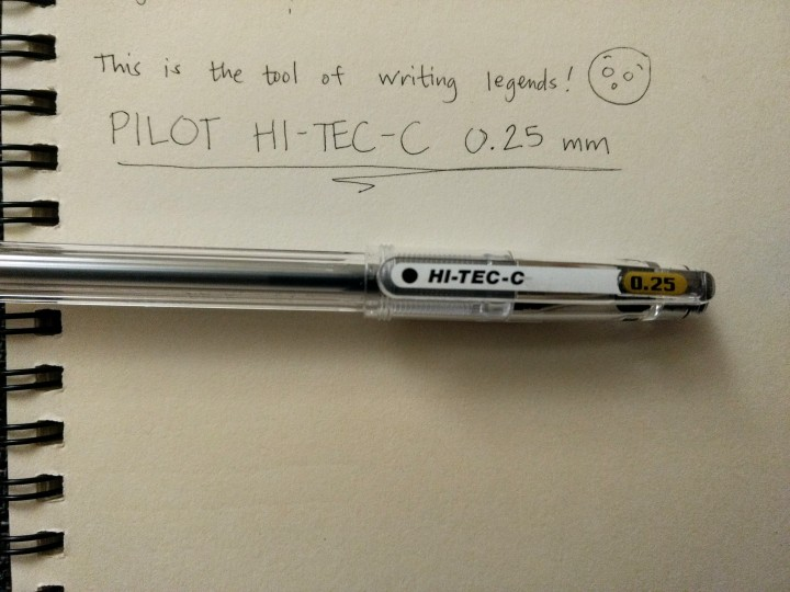 pilot hi-tec 0.25mm fine-tipped pens sharp pens fine lines calligraphy writing japan